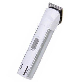แบตตาเลี่ยน ปัตตาเลี่ยน โกนหนวดตัดผม (เด็ก/ผู้ใหญ่) สารพัดประโยชน์ ใบมีดแสตนเลสสตีล รุ่น KM-2599 - สีขาว