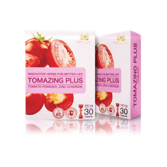 โทเมซิงพลัส [Tomazing Plus] อาหารเสริมต้านมะเร็งต่อมลูกหมากสำหรับคุณผู้ชาย [30แคปซูล/กล่อง]