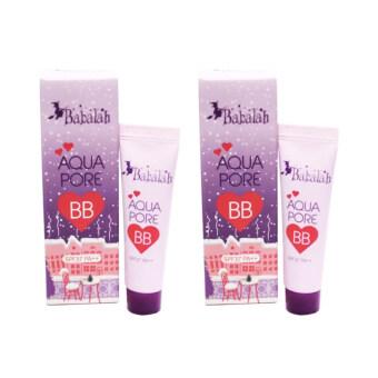 Babalah BB Cream บาบาลา บีบีครีม x2หลอด Aqua Pure SPF37PA++