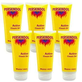 PERSKINDOL Classic Gel บรรเทาอากาศปวดกล้ามเนื้อ 100ml. (6 หลอด)