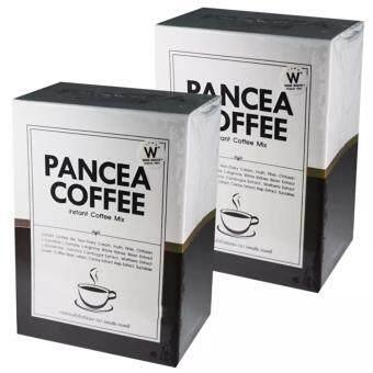 PANCEA COFFEE แพนเซีย คอฟฟี่ 15 in 1 กาแฟสุขภาพควบคุมน้ำหนัก (10 ซอง) จำนวน 2กล่อง