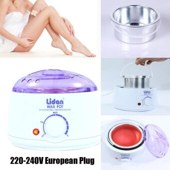 Harga Hair Removal Hot Wax Warmer Heater Machine Pot Depilatory European Plug 220V - intl