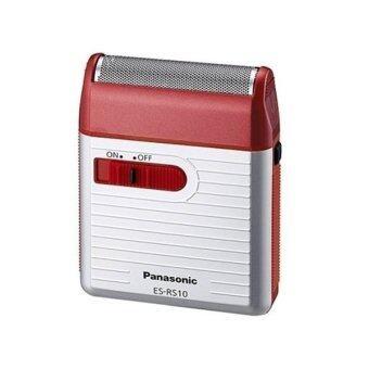 Panasonic เครื่องโกนหนวด รุ่น ES-RS10 Made in JAPAN (Red)