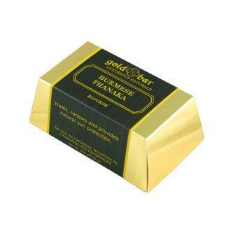 GOLD BAR สบู่ก้อนทานาคา ผิวขาว (100 กรัม)