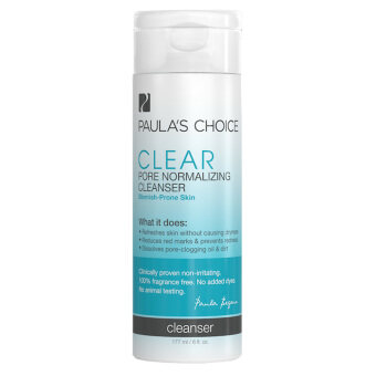 Harga Paula's Choice CLEAR Pore Normalizing Cleanser 177ml