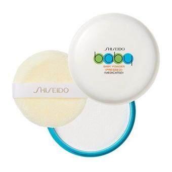 Shiseido Baby Powder Pressed Medicated 50 g. แป้งเด็กอัดแข็ง