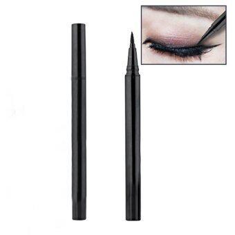 ปากกาดินสอแต่งหน้าเครื่องสำอางกันน้ำสวยใสสีดำอายไลเนอร์ดินสอ