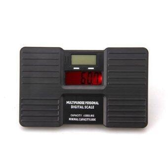 WiseBuy 150 กก./300กรัมน้ำหนักดิจิตอลแบบพกพาเครื่องชั่งน้ำหนักร่างกายส่วนจอแอลซีดี