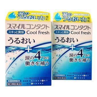Smile Contact Cool Fresh น้ำตาเทียมหยด จากญี่ปุ่น(Level 5) แพค 2 กล่อง