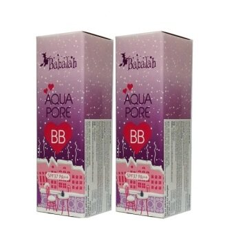 Babalah Aqua Pore BB บาบาร่า บีบีครีม SPF37 PA+++ 10 g. (2 หลอด)