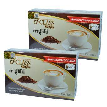 Vivi J-Class Coffee วีวี่ คาปูชิโน่ กาแฟลดน้ำหนัก เร่งการเผาผลาญไขมัน บรรจุ 10 ซอง ( 2 กล่อง)