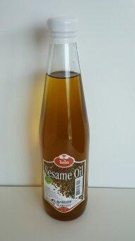 น้ำมันงาดำ สกัดเย็น (Sesame Oil)