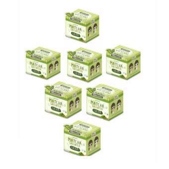 Matcha Greentea Cream 10 g.ครีมชาเขียว บำรุงหน้ากระจ่างใส (7กล่อง)
