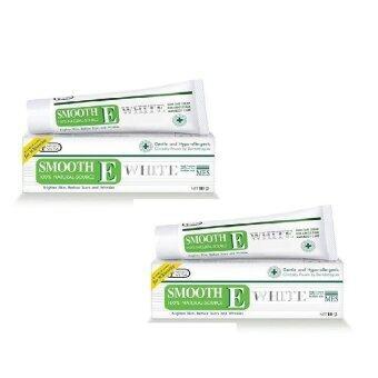 Smooth E Cream Plus White 60กรัม(2หลอด)