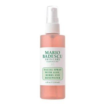 Mario Badescu Facial Spray With Aloe, Herbs And Rosewater (118 ml) สเปรย์น้ำกุหลาบ