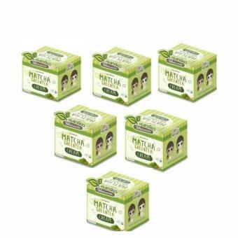 Matcha Greentea Cream 10 g.ครีมชาเขียว บำรุงหน้ากระจ่างใส (6กล่อง)