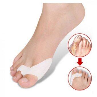 ซิลิโคนช่วยจัดกระดูกนิ้วเท้าเข้ารูปSilicone gel toe 1คู่