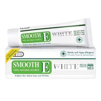 Smooth E Cream Plus White 30กรัม(1หลอด)