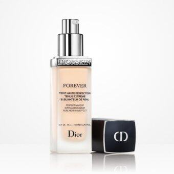 Diorskin Forever Perfect Makeup Everlasting Wear Pore-Refining Effect SPF35 - PA+++ / Shine Control 30ml. #020 Beige Clair/Light Beige สำหรับผิวขาวเหลือง