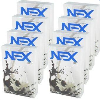 Kudson Exday NEXday เน็กซ์เดย์ Nex day ช็อคโกแลต (Ex day เอ็กซ์เดย์) ลดน้ำหนัก ช่วยให้อิ่มเร็ว เผาผลาญไว (10 ซอง) 8 กล่อง