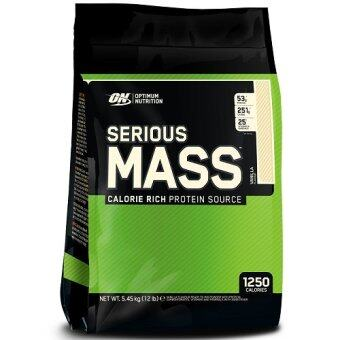 Harga OPTIMUM NUTRITION Serious Mass12 lbs.--Vanila