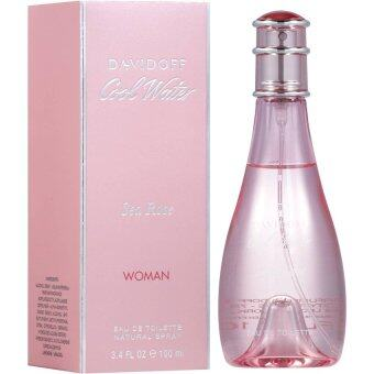 Davidoff Cool Water Sea Rose 100 ml.พร้อมกล่อง