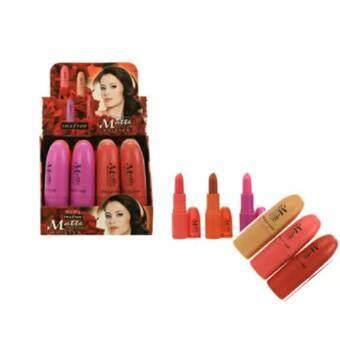 Insfree Meete Moiten Lipstick ลิปเนื้อแมท (1 กล่อง 12 แท่ง)