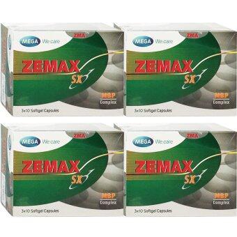 Mega We Care Zemax SX 30เม็ด (4กล่อง)