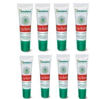 Himalaya Herbals Lip Balm 10 g. บำรุงริมฝีปากชุ่มชื่น ( 8 หลอด)