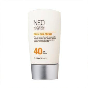 Harga The Face Shop Neo Classic Homme Daily Sun Cream SPF40 PA+++ 45ml