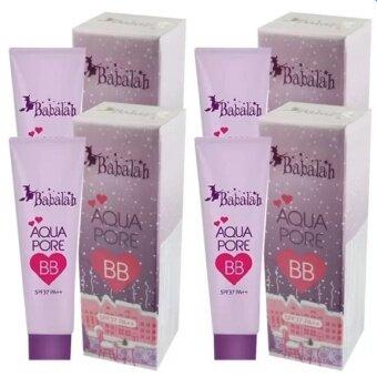 Babalah Aqua Pore BB บาบาร่า บีบีครีม SPF37 PA+++ 10g (4 หลอด)