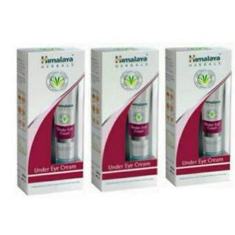 Himalaya Herbals Under Eye Cream 15ml ลดเลือนรอยหมองคล้ำ บำรุงใต้ตา (3 กล่อง)