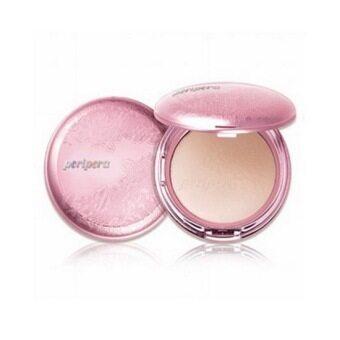 Peripera - My Skin Pact SPF 30, PA++ แป้งพัฟเพอริเพอรร่า 13 กรัม พร้อม รีฟิล # light beige สำหรับผิวขาว