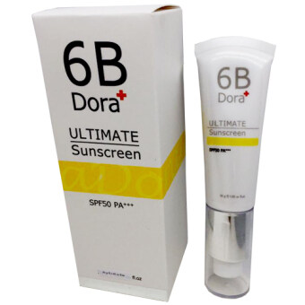 Harga 6B Dora+ Ultimate Sunscreen 30g.