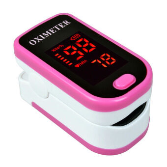 DB-11 ชีพจรนิ้ว Oximeters SPO2 เฝ้าบ้านดูแลสุขภาพ (สีชมพู)