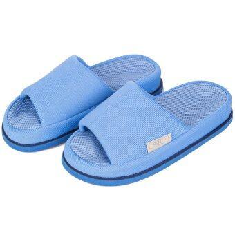 Refre OKUMURA Slippers รองเท้านวดเพื่อสุขภาพ รองเท้าญี่ปุ่น รองเท้าเพื่อสุขภาพ สีฟ้า Size M