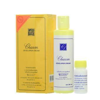 Charm Developer Cream ครีมฟอกผิวและเปลี่ยนสีขน ขนาด 240 มล. 1 ชิ้น
