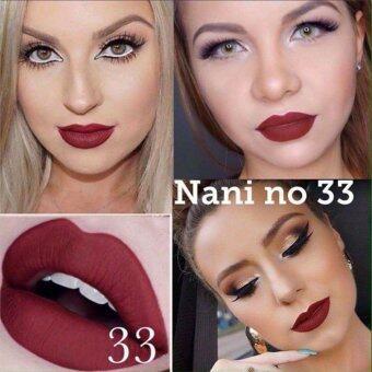 ลิปสติก เนื้อแมท NANI Long Lasting Lip เบอร์33