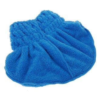 หมวกผ้าโพกหัวผ้าไมโครไฟเบอร์ช่วยให้ผมแห้งได้อย่างรวดเดร็ว