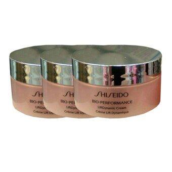 Shiseido Bio-Performance LiftDynamic Cream ครีมบำรุงผิวหน้าให้กระชับ 18ml. (3 กระปุก)