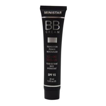 Harga MINISTAR BB Cream all in one No 104 - Foundation, Primer and Moisturizer 30 ml.