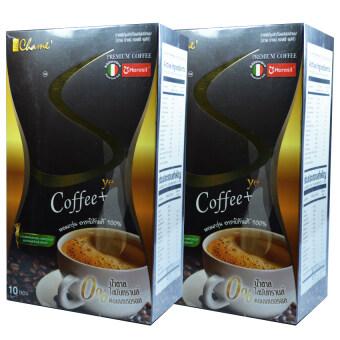 Chame' Sye Coffee Plus ชาเม่ ซายน์ กาแฟลดน้ำหนัก เกรดพรีเมี่ยม บรรจุ 10 ซอง (2 กล่อง)