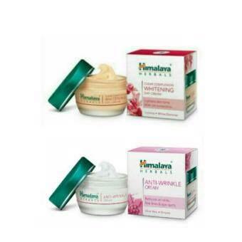 Himalaya Day Cream& Himalaya Anti-Wrinkle Cream 50g.ชุดเร่งผิวกระจ่างใส แพคคู่