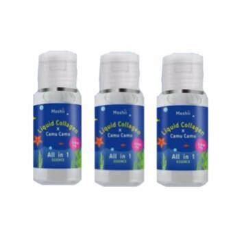 Liquid Collagen ☓ Camu Camu น้ำตบโมชิ 30 ml. ( 3 ขวด )