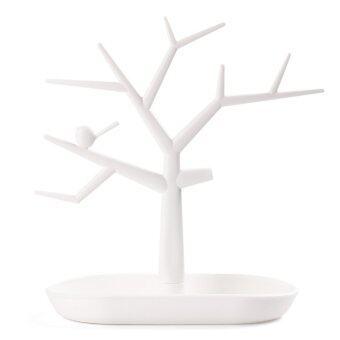 สร้อยคอแหวนต่างหูเครื่องประดับบูธดิสเพลย์แสดงต้นไม้ยึดชั้นออแกไนเซอร์