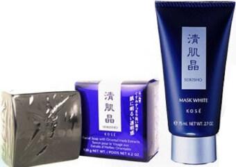 Kose Seikisho Mask & Soap หน้าใส ไร้สิว (แพ็คคู่)