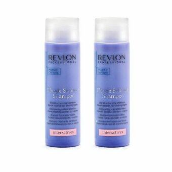 Revlon professional interactive blonde up sublime shampoo 250ml x 2 ขวด
