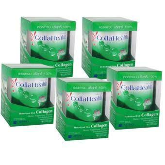 คอลลาเฮลท์ คอลลาเจน Collahealth Collagen 200g x 5 Bottle