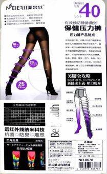 MEIERSI ถุงน่องรักษาเส้นเลือดขอด ขาเรียว รุ่น Be Health 40 Den - สีเนื้อ