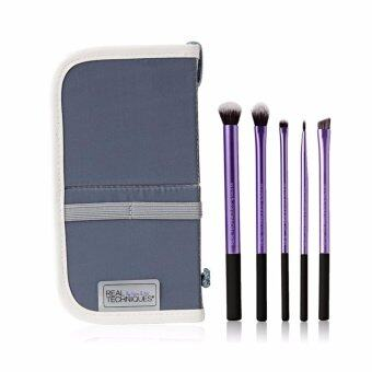 Harga Real Techniques 5Pcs Makeup Brushes Starter Set - intl